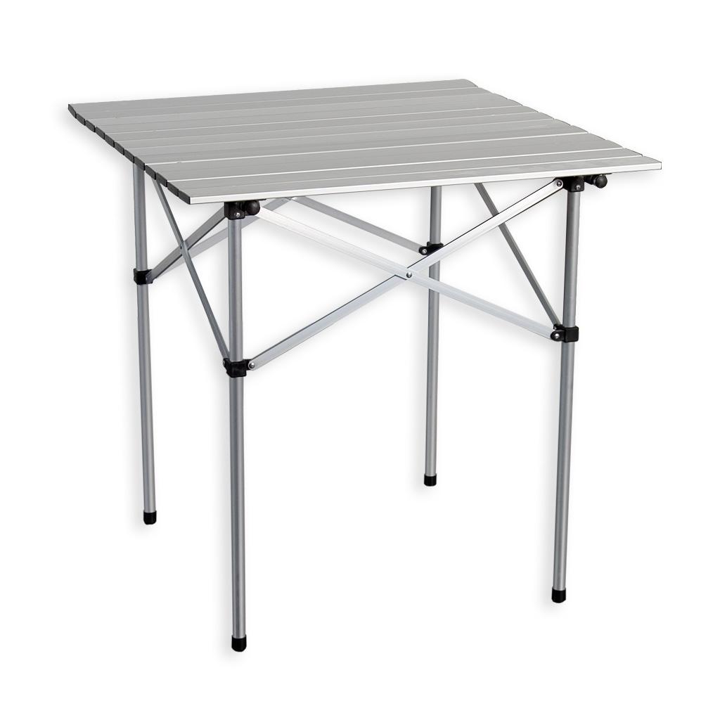 alu klapptisch campingtisch rolltisch gartentisch camping tisch 70x70x70cm ebay. Black Bedroom Furniture Sets. Home Design Ideas