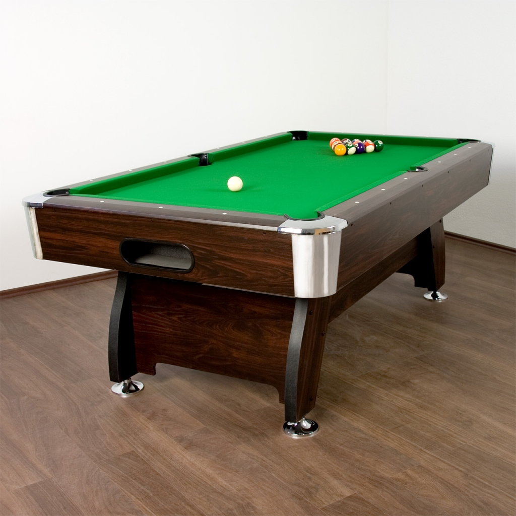 7ft billardtisch pool billard billiardtisch tischbillard for Pool holzdekor