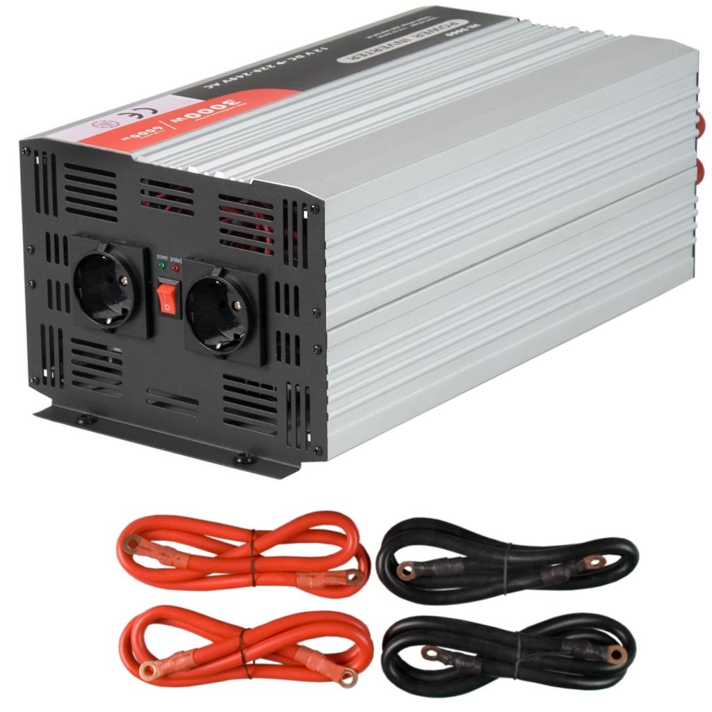 softstart spannungswandler 12v 3000 6000 watt e8 ce inverter wechselrichter ebay. Black Bedroom Furniture Sets. Home Design Ideas