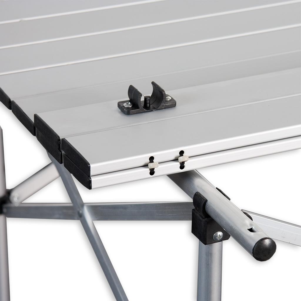 alu klapptisch campingtisch rolltisch gartentisch camping tisch 70x70x70cm. Black Bedroom Furniture Sets. Home Design Ideas