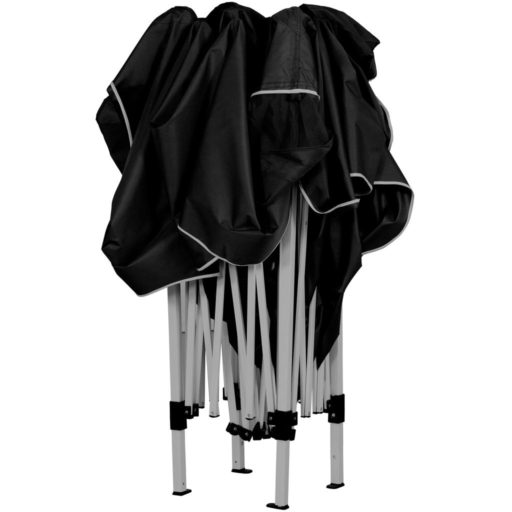klapp falt pavillon 3x3m wasserdicht anthrazit party zelt gartenzelt pavillion ebay. Black Bedroom Furniture Sets. Home Design Ideas