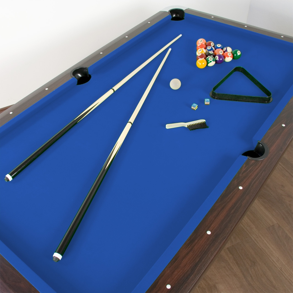 8ft billardtisch pool billard billiardtisch tischbillard for Pool holzdekor