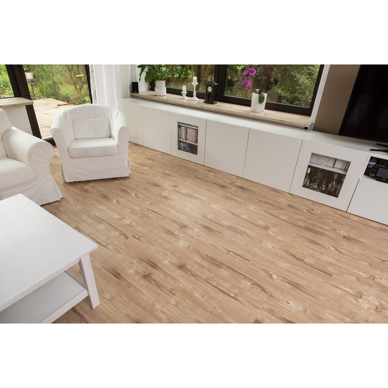 stilista 5 07m vinyl laminat dielen vinylboden bodenbelag kampferholz creme ebay. Black Bedroom Furniture Sets. Home Design Ideas