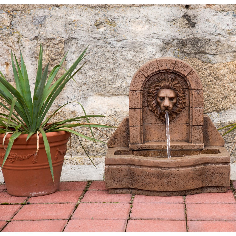 Stilista testa di leone fontana giardino ornamentale - Fuentes para patios ...