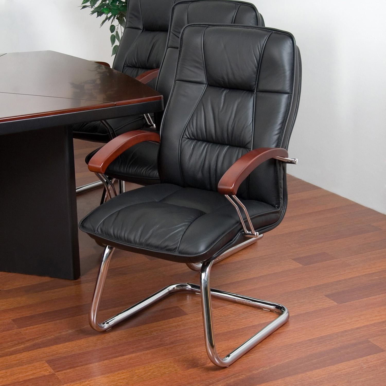 konferenztisch besprechungstisch 10 leder st hle neu ebay. Black Bedroom Furniture Sets. Home Design Ideas