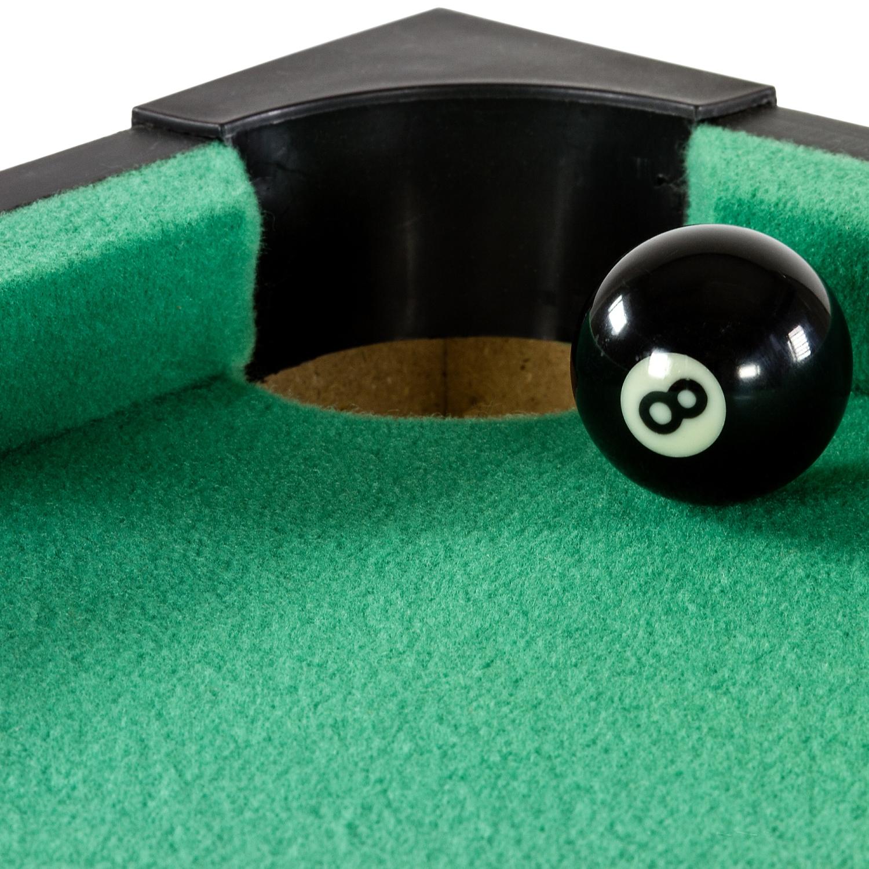 Mini pool tavolo da biliardo incl accessori dimensioni - Mini biliardo da tavolo ...