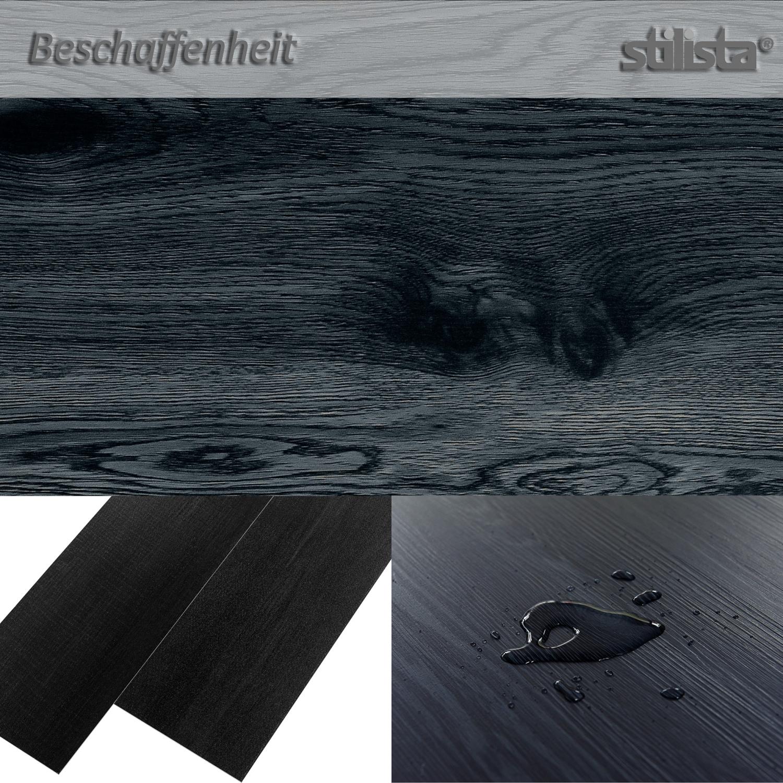 stilista 5 07m vinyl laminat dielen vinylboden bodenbelag eiche gewaschen wei ebay. Black Bedroom Furniture Sets. Home Design Ideas
