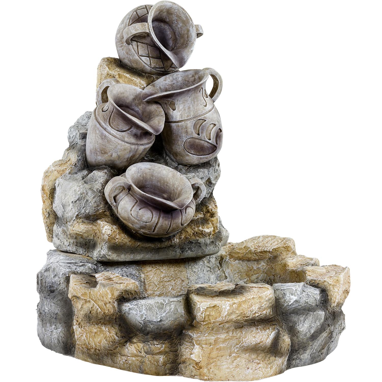 stilista springbrunnen kr ge garten terrasse brunnen. Black Bedroom Furniture Sets. Home Design Ideas