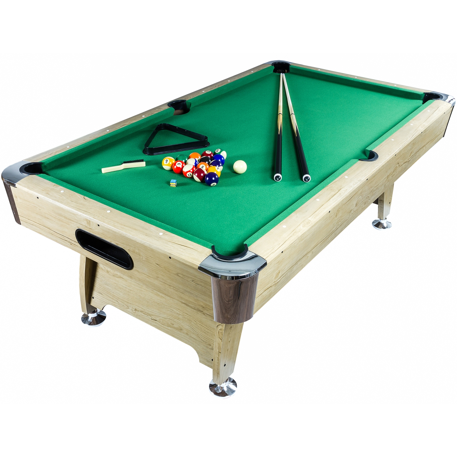 8ft billardtisch farbwahl pool billard billiardtisch for Pool holzdekor