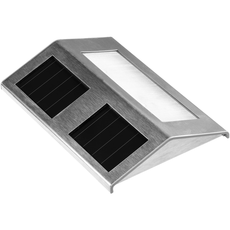 voltronic edelstahl solar led treppenleuchte warm. Black Bedroom Furniture Sets. Home Design Ideas