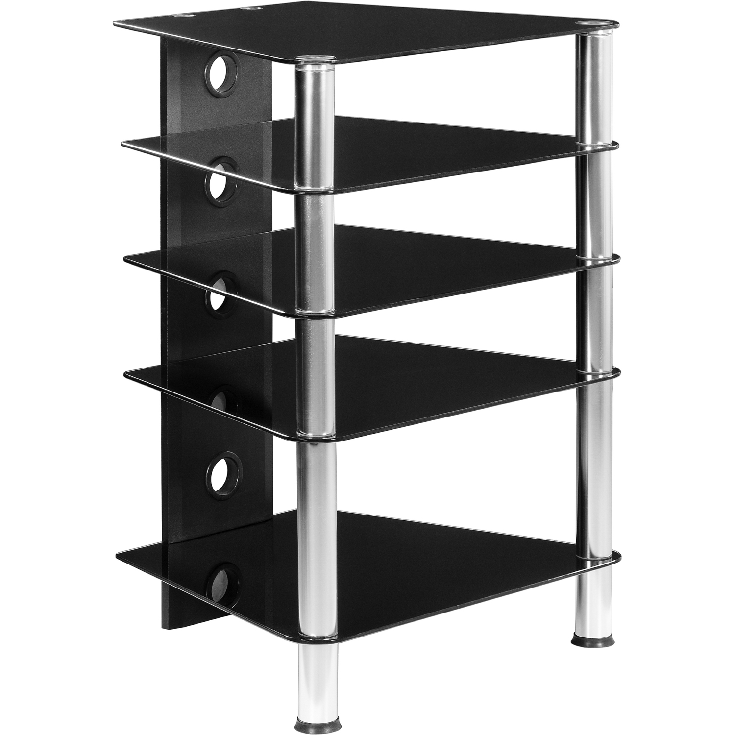 stilista tv rack schrank st nder m bel regal hifi audio. Black Bedroom Furniture Sets. Home Design Ideas