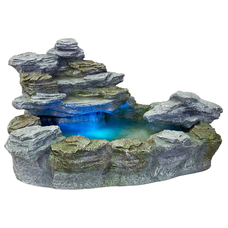 Der wundersch�ne und mit 98cm L�nge stattlichgro�eStilista� Brunnen �OLYMP� bringt Ihnen ein geheimnisvolles Ambientein Ihren Garten! Preis: 189,00 �