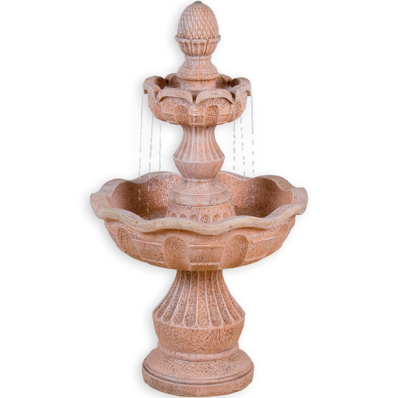 Derwundersch�ne und mit102cm stattlich gro�e Brunnen �METIS� der MarkeStilista� bringt Ihnen Romantik in Ihr Heim undGarten! Preis: 148.90 �