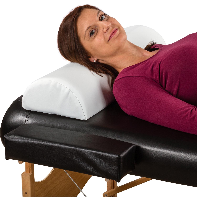 movit xxl nackenkissen wei 69x23x11 nackenrolle knierolle massageliege kissen 4048821001567 ebay. Black Bedroom Furniture Sets. Home Design Ideas