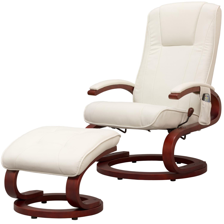 stilista fauteuil de massage de t l vision relax t l vision fauteuil blanc ebay. Black Bedroom Furniture Sets. Home Design Ideas