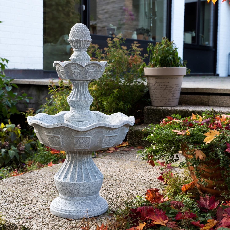 Stilista gartenbrunnen springbrunnen zierbrunnen garten terrasse brunnen 85cm ebay - Fuentes de patio ...