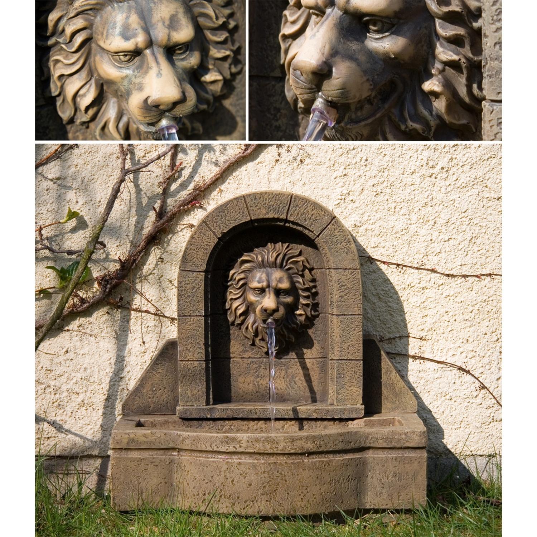 Stilista l wenkopf gartenbrunnen springbrunnen zierbrunnen garten brunnen ebay - Pumpe zierbrunnen garten ...