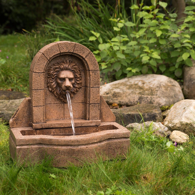 stilista löwenkopf gartenbrunnen springbrunnen zierbrunnen garten