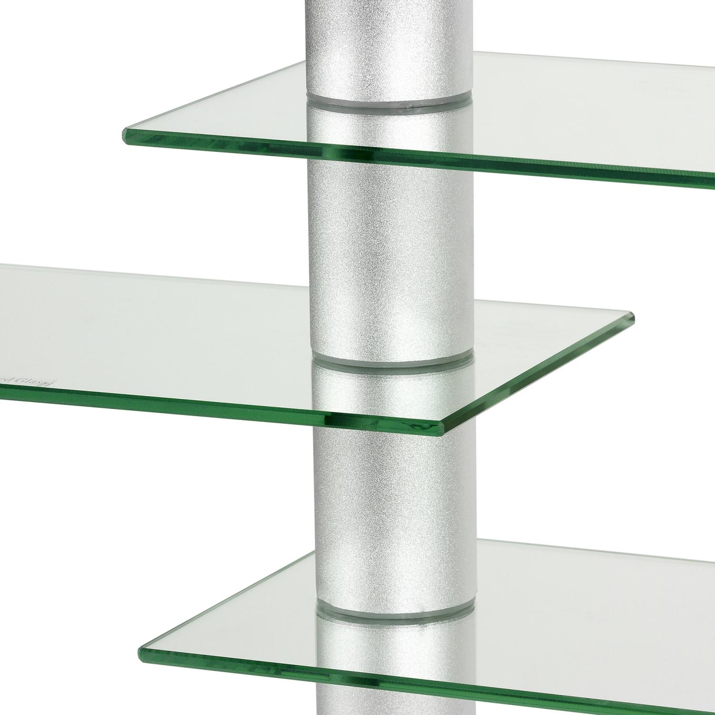STILISTA DESIGN GLAS ALUMINIUM CDDVD Regal Wandregal f. 300
