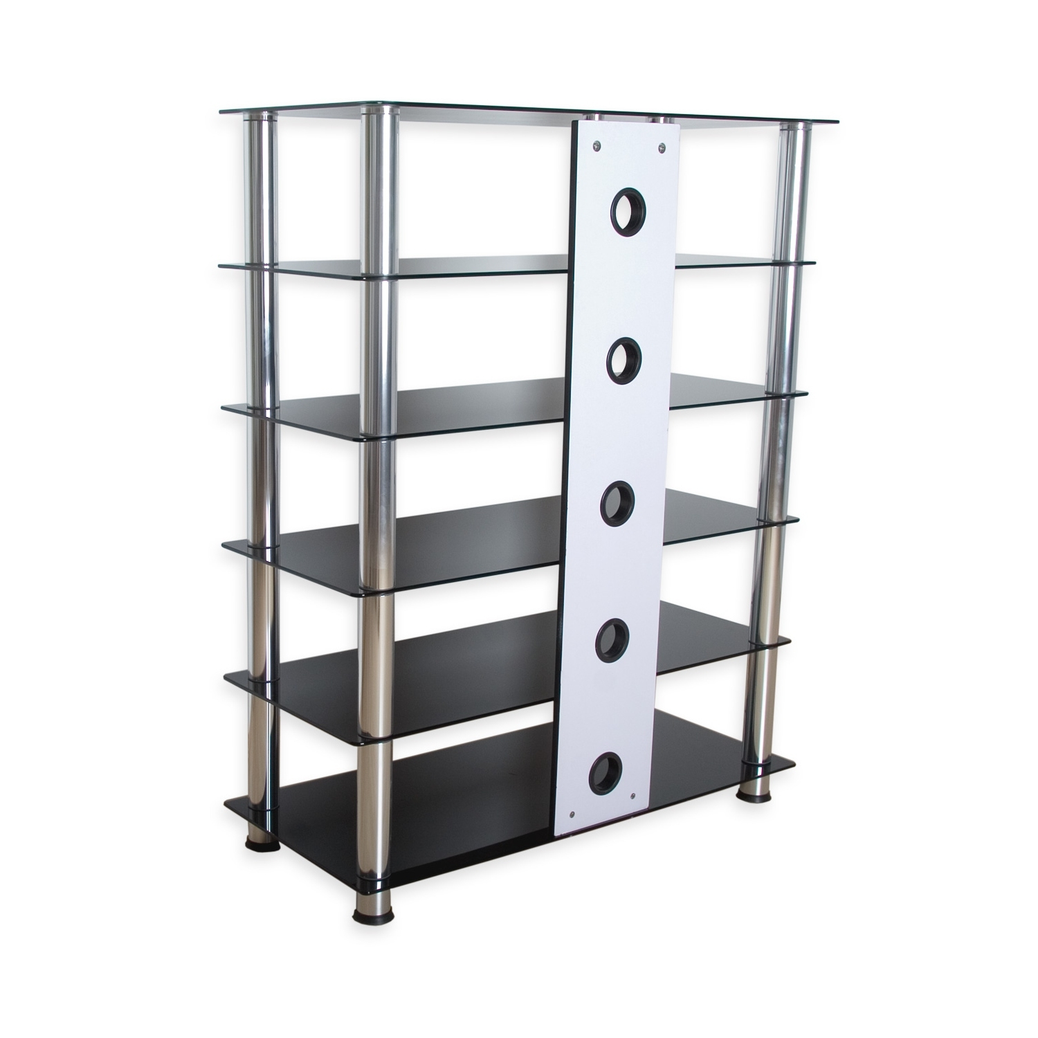 stilista tv rack wardrobe stand furniture shelf rack hifi audio glass fantasia ebay. Black Bedroom Furniture Sets. Home Design Ideas