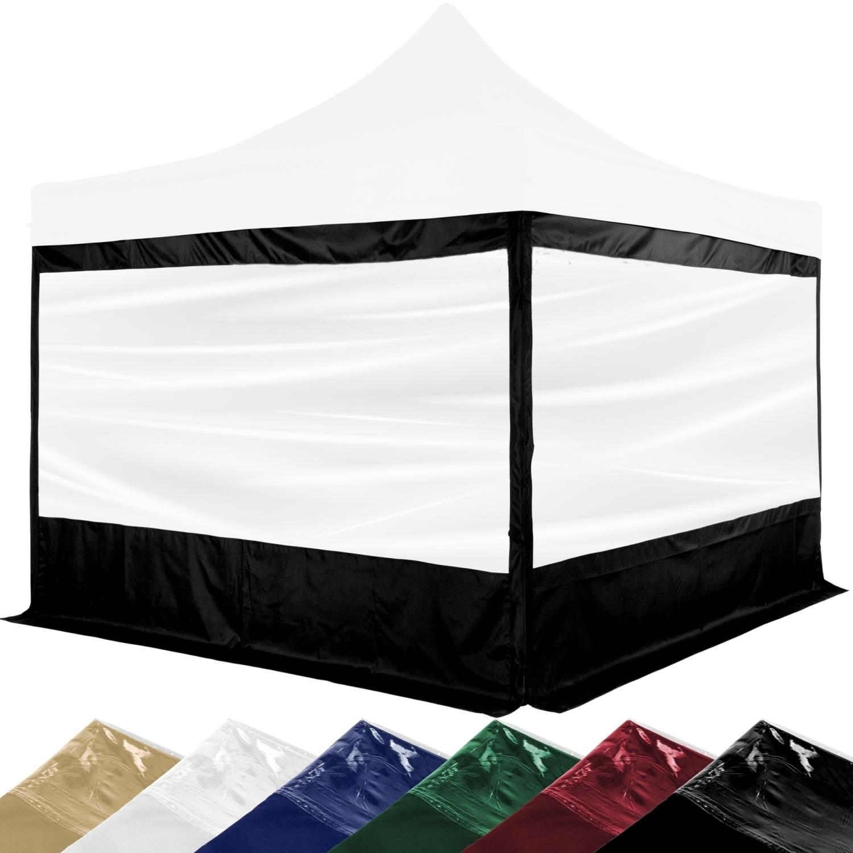 instent 2x seitenw nde f r pavillon mit xxl panorama fenster oder rei verschluss ebay. Black Bedroom Furniture Sets. Home Design Ideas